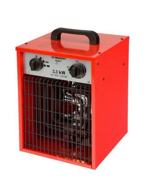 Electric Patio Heater Munters Rpl 3 3 Electric Fan Heater 3 3kw