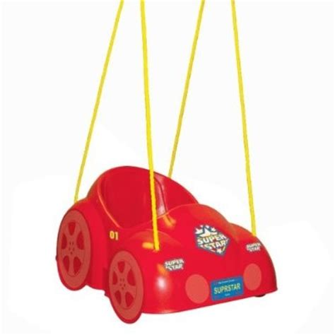 red baby swing red car toddler swing northern leisure