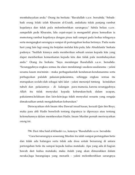 Riyadhus Salihin Imam Nawawi Isi 2 Buku riyadhus salihin buku2 imam nawawi