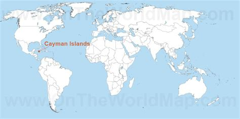 where are the cayman islands on a world map cayman islands on the world map cayman islands on the