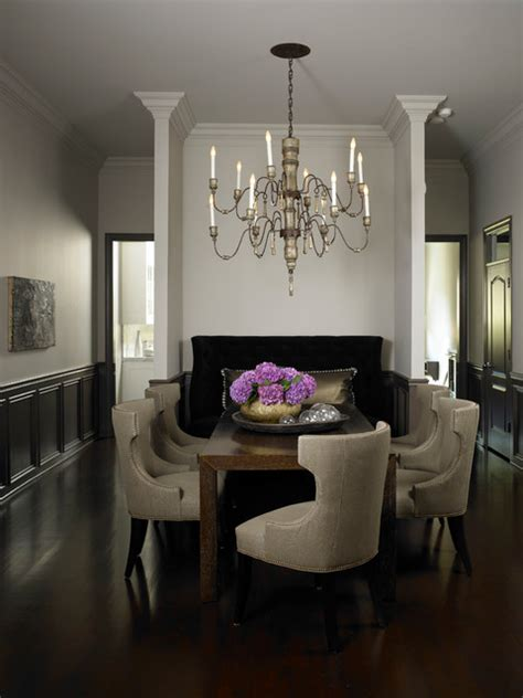 roscoe transitional dining room chicago by