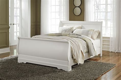 bed frame cls anarasia queen sleigh bed b129 77 74 98 complete beds