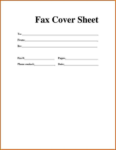 How To Make A Cover Page For A Paper - 9 how to make fax cover sheet lease template