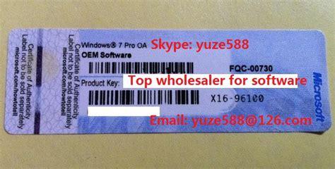 Windows 8 1 Pro Lisensi Activation 100 Original 100 original coa license sticker windows 8 professional