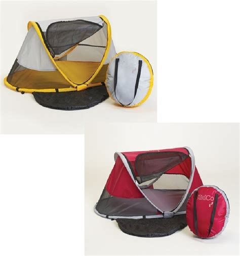 kidco peapod portable toddlerchild travel air bed tent ebay