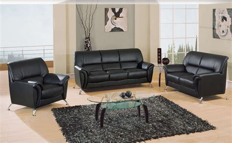 living room furniture usa global furniture usa 9103 living room collection black gf u9103 bl sofa set at homelement