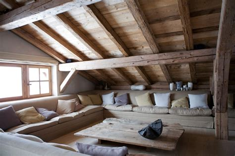 attic living rooms      adorable