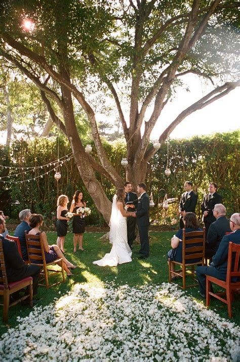 backyard ceremony ideas 30 sweet ideas for intimate backyard outdoor weddings