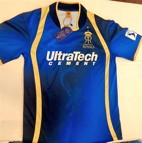 Rajasthan Royals 2015 IPL jerseys and t shirts now