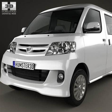 Sparepart Daihatsu Luxio daihatsu luxio 2013 3d model humster3d