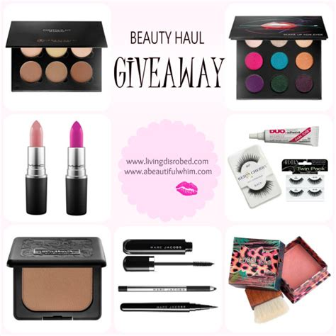 Giveaway Beauty - the beauty haul giveaway an extravagant collaboration giveaway