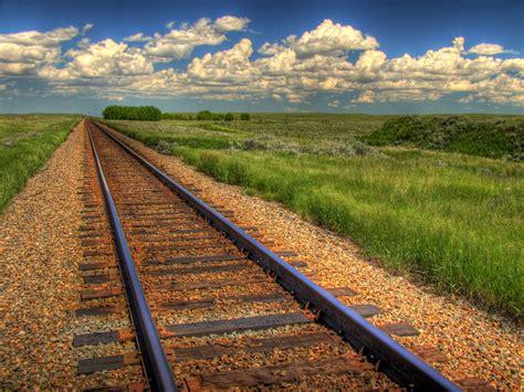 The Rails Blue Sky On Rails