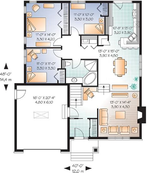 Home Design Story Friend Codes craftsman style house plans 1390 square foot home 1