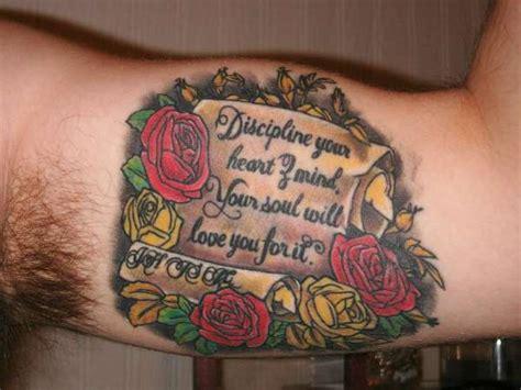 discipline tattoo discipline