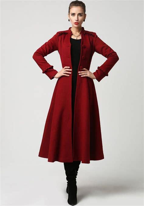 michael cera vine nice jacket long winter coat red coat maxi coat wool coat dress