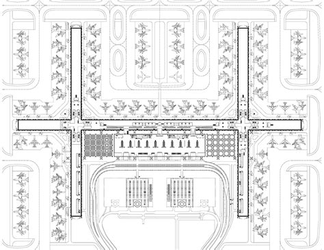 Airport Floor Plan Design Gallery Of Passenger Terminal Complex Suvarnabhumi Airport