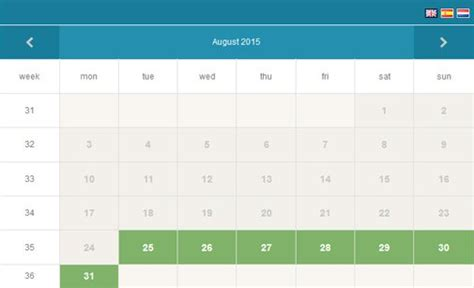 Booking Calendar Php Event Calendar Php Calendar Script Phpjabbers
