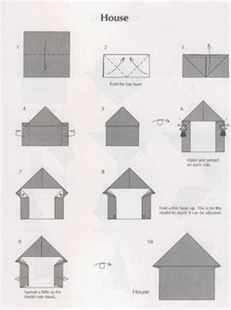 How To Make A 3d Paper House - 1000 images about origami on house business