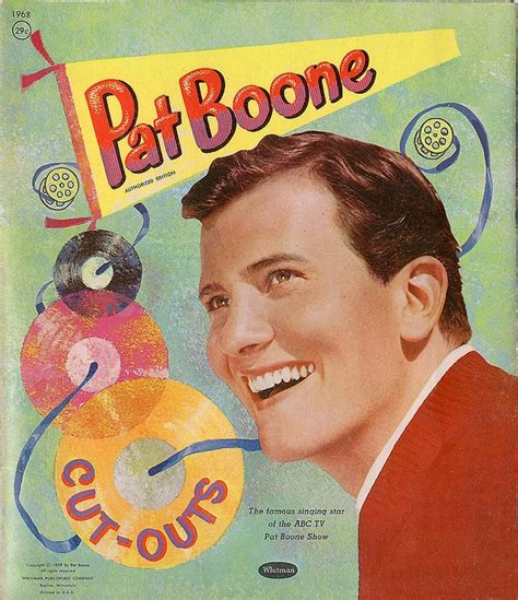 White Bernadine Top 39 best images about pat boone on sheet