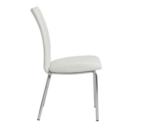 White Stackable Chairs by Modern White Stacking Chair Estyle 613 Modern Chairs