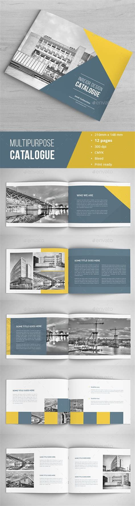 download layout indesign modern architecture brochure template indesign indd