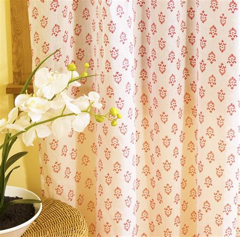hand printed curtains 7 best images about indian sheer curtain on pinterest