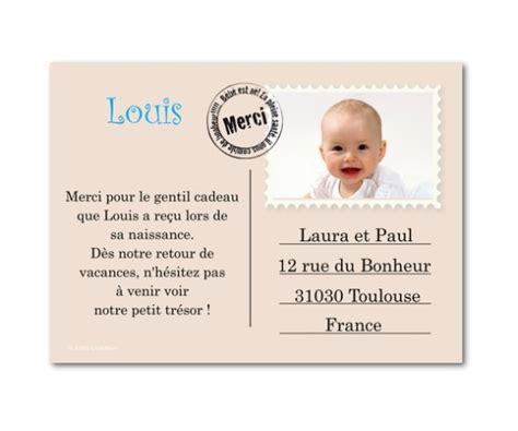 Modèle De Lettre De Remerciement Pour Naissance Remerciement Naissance Ton Carte Postale Planet Cards