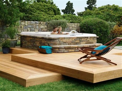 hot tub ideas backyard backyard hot tub ideas large and beautiful photos photo
