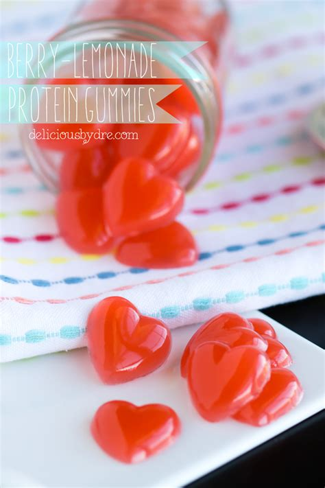 protein gummies berry lemonade protein gummies delicious by dre