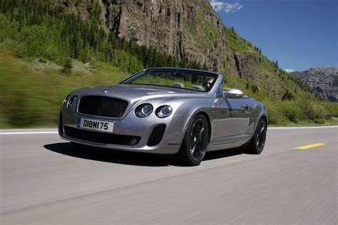 bentley continental convertible 2011 bentley continental supersports convertible on the
