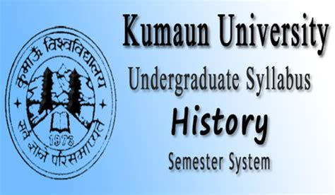 semester wise syllabus of b.a. history of kumaun