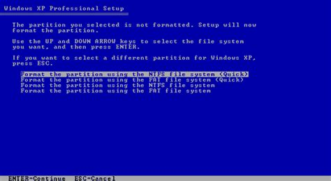 quick format fat32 windows xp how to format your computer