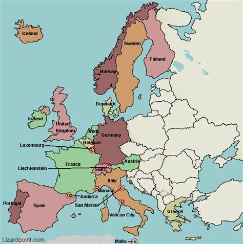 european map quiz ilikelearn