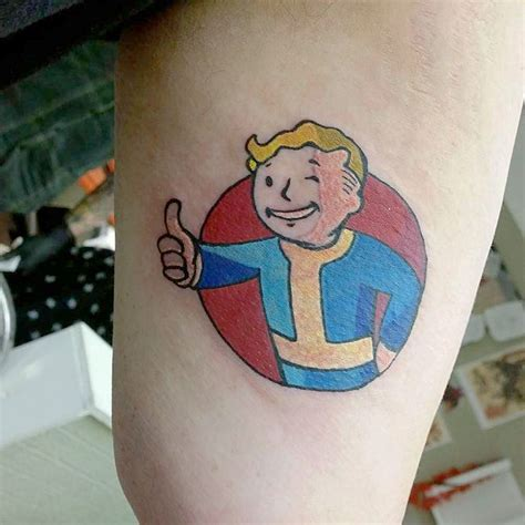 pip boy tattoo 23 best fallout 4 ideas that you can with