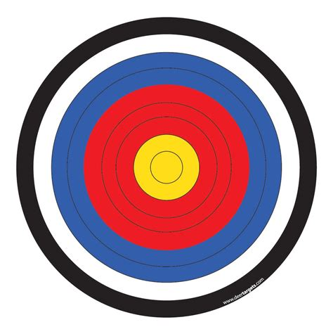 printable targets for archery seven advertising department influences which can help