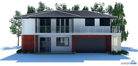 new house plans 2013 modern house plan with very large balcony