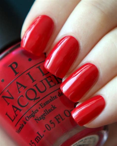 opi hair color opi color so hot it berns nails pinterest colors