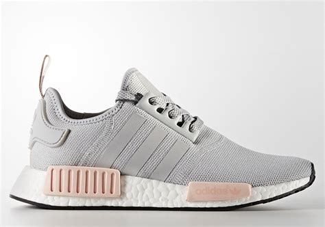 Adidas Nmd R1 Vapour Pink Light Onyx Grey 37 40 adidas nmd r1 vapour pink pack restock info sneakernews