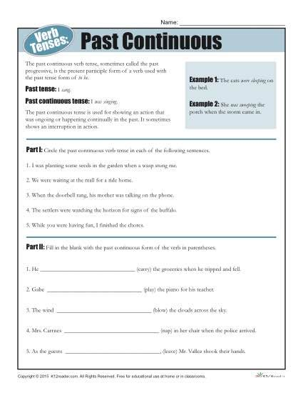 Tense Worksheet by All Worksheets 187 Verbs In The Past Tense Worksheets