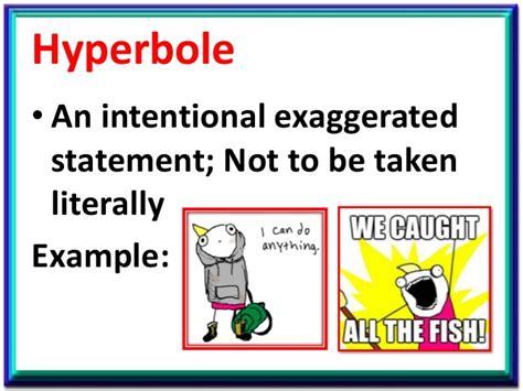 exle of hyperbole 19 hyperbole