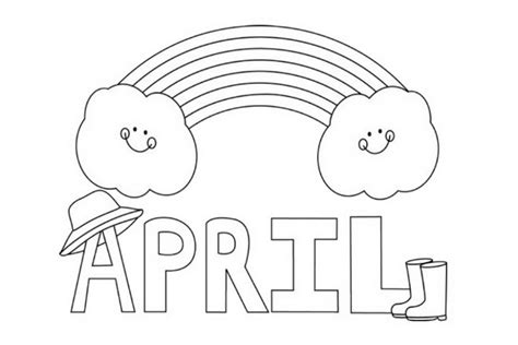april calendar page free printable pages 425229 171 coloring
