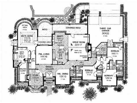 one story house plan best one story country house plans for classic design house design