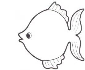 Rainbow Fish Template For Kids sketch template