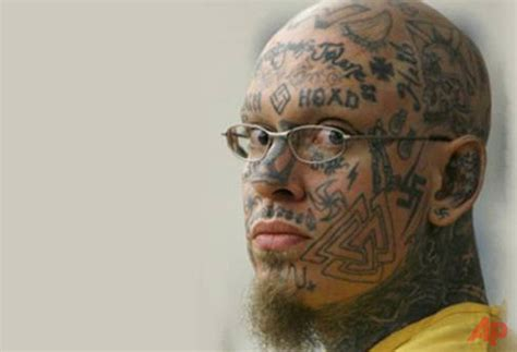 gang related tattoos show us your ink how criminals today are literally