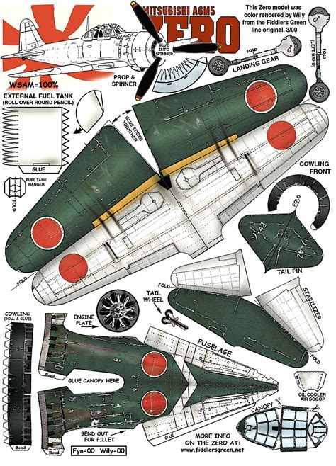 Ww2 Papercraft - paper model airplanes aviones de papel y de verdad