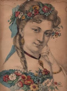 victorian lady  flowers  graphics fairy