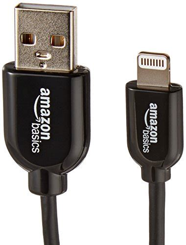 Amazonbasics Apple by Amazonbasics Apple Certified Lightning To Usb Cable 4 Inches 10 Centimeters Black Buy