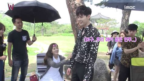 bts drama k drama w teaser bts 더블유 티저 메이킹 youtube