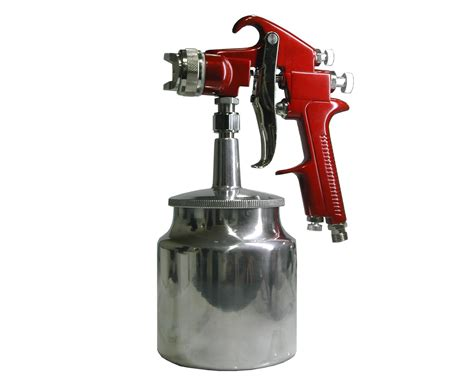 spray painting a gun spray paint gun leal rental tools