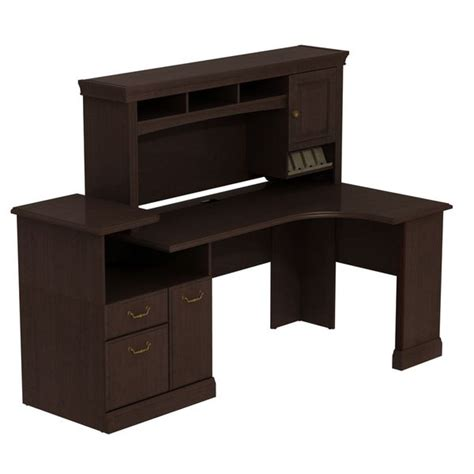 inval credenza computer workstation desk with hutch syndicate expandable corner workstation with hutch